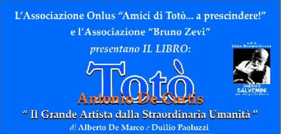 Presentazione libro Totò di Alberto De Marco, Salerno Venerdì 19 Febbraio 2016